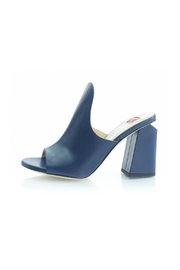 Ballin Blue Open-Toe Mule - Product Mini Image