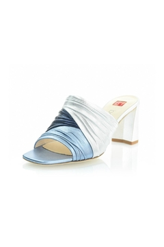 Ballin Ruched Leather Mule - Alternate List Image