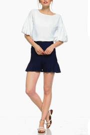 TCEC Balloon Short-Sleeve Top - Front cropped