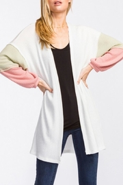 Cherish Balloon Sleeve Cardigan - Product Mini Image