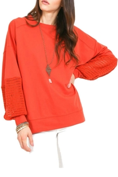 R+D Hipster Emporium  Balloon Sleeve Pullover - Product List Image