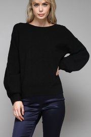 Do & Be Balloon Sleeve Sweater - Product Mini Image