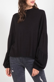 Very J  Balloon Sleeve Sweater - Product Mini Image