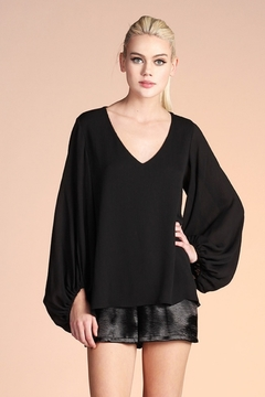 Tyche Balloon Sleeve Top - Product List Image