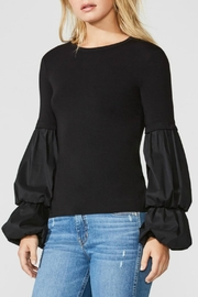Bailey 44 Balloon Sleeve Top - Product Mini Image
