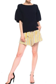 TCEC Balloon Sleeves Top - Back cropped
