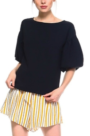 TCEC Balloon Sleeves Top - Front cropped