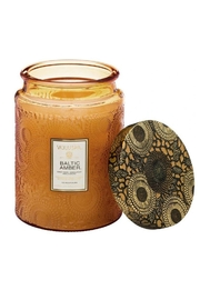 Voluspa Baltic Amber Large Jar Candle - Front cropped