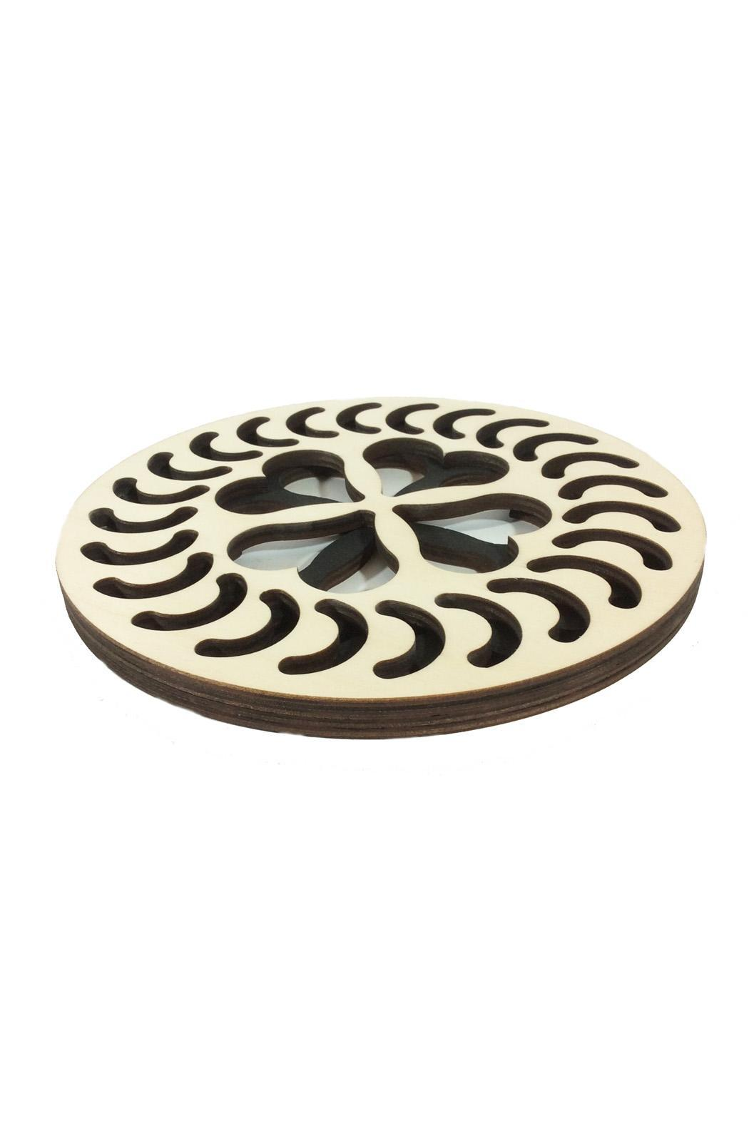baltic by design trivet heart design from iowa city by iowa artisans gallery shoptiques. Black Bedroom Furniture Sets. Home Design Ideas
