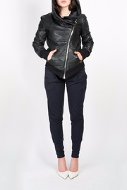 BAM Macy Leather Hoodie - Product Mini Image