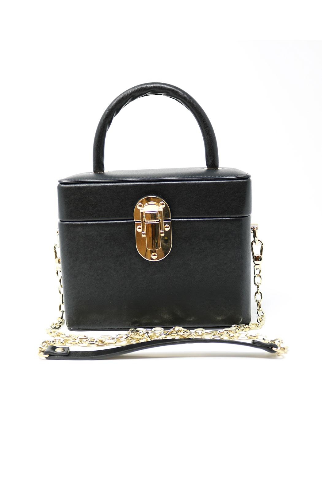 Bam forever Treasure Box Clutch - Back Cropped Image