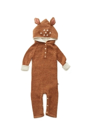 Oeuf Bambi Hooded Jumper - Front cropped
