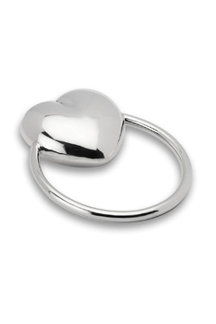 Shoptiques Product: Cunill Sterling Heart Rattle