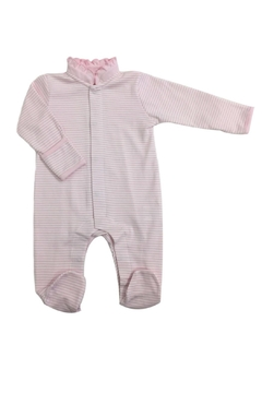 Shoptiques Product: Ruffle Striped Footie
