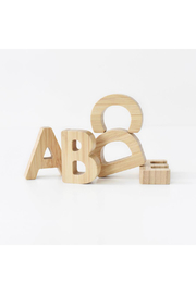 Wee Gallery Bamboo Alphabet - Product Mini Image