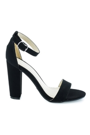 Bamboo Block Heel Sandal - Product Mini Image