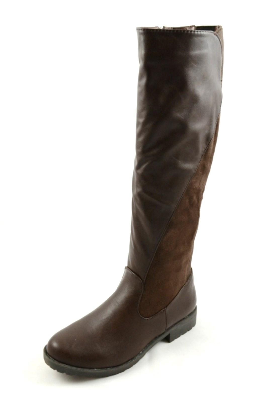 bamboo brown boots from atlanta by couture