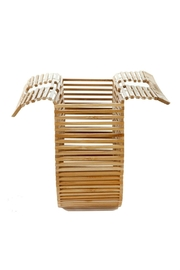 Catherine K Collections Bamboo Clutch Bag - Back cropped