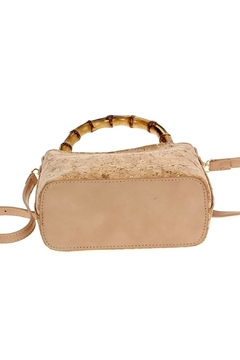 joseph d'arezzo Bamboo Cork Clutch - Alternate List Image