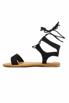 Bamboo Corset Lace-Up Sandal - Product List Image