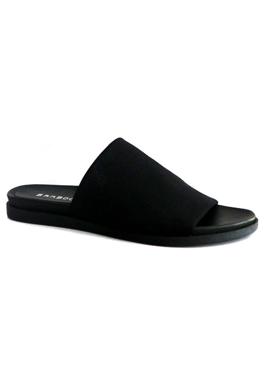 Bamboo Covered Footbed Sandal - Main Image
