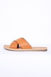 Bamboo Crossing Slip On Sandal - Product Mini Image