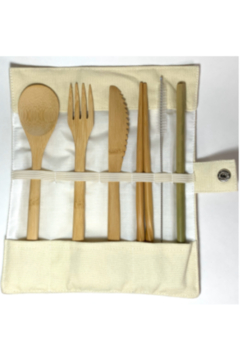 Faire Bamboo Cutlery Pack - Alternate List Image