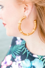 Izzie's Boutique Bamboo Earring - Product Mini Image