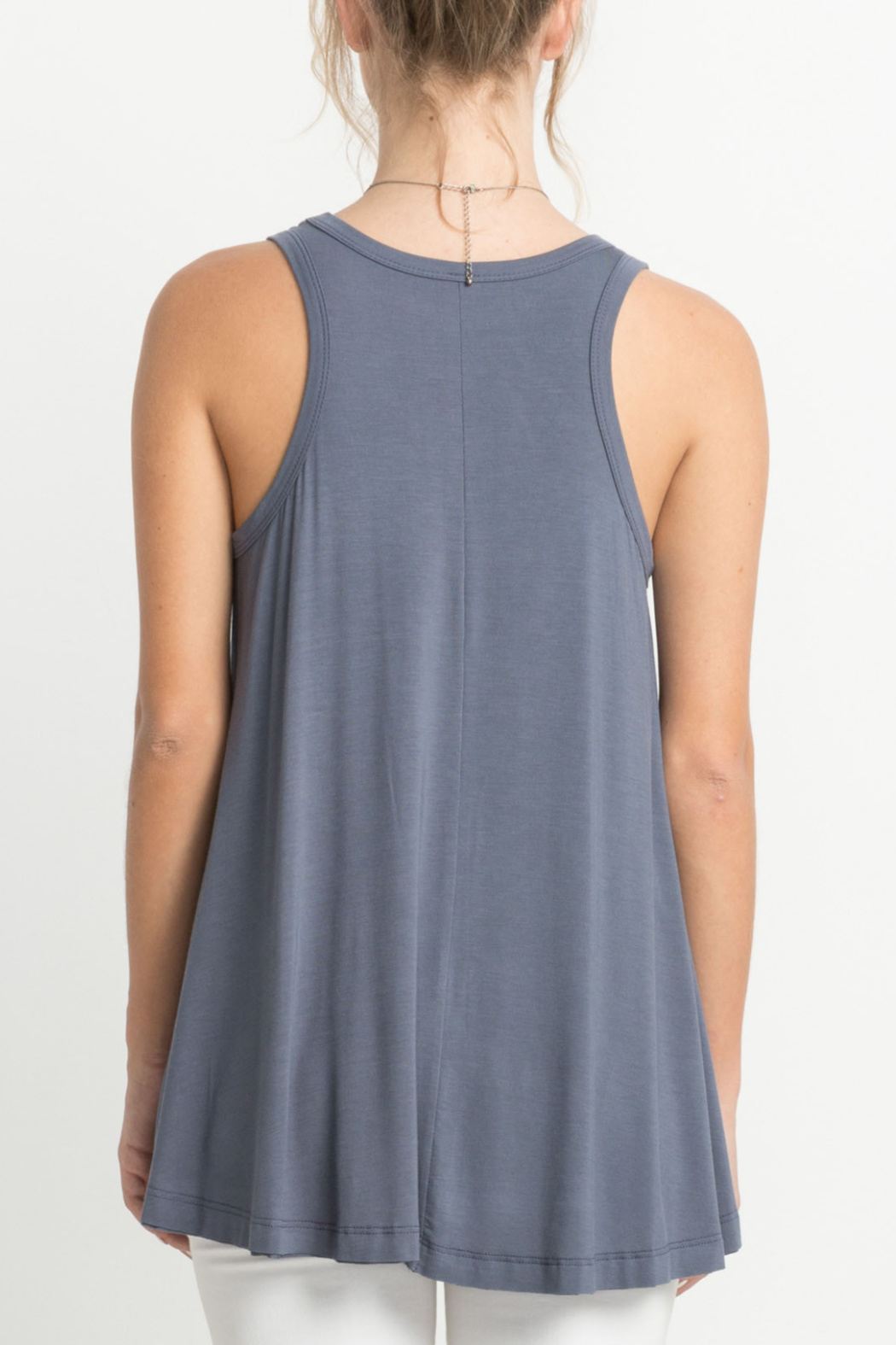 Mittoshop Bamboo fabric tank top - Front Cropped Image