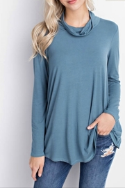 Mittoshop Bamboo fabric turtleneck top - Product Mini Image