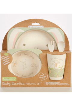 Baby Aspen Bamboo Feeding Set - Alternate List Image