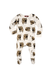 Milkbarn Bamboo Footed Romper - Product Mini Image