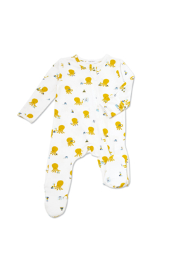 Angel Dear Bamboo Footie - Product List Image