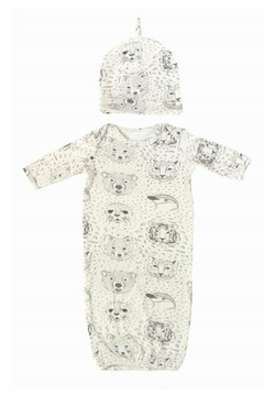 Nohi Kids Bamboo Gown & Hat - Alternate List Image