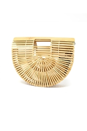 Nadya's Closet Bamboo Handbag - Product Mini Image