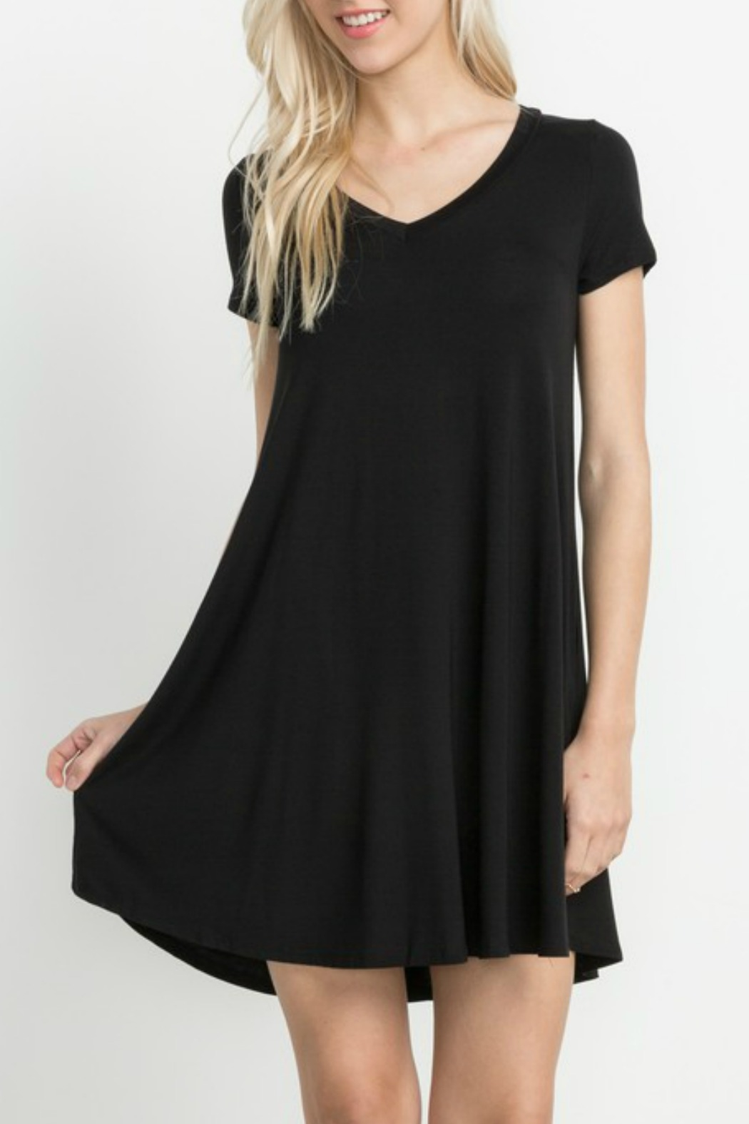 Mittoshop Bamboo Knit Dress - Front Cropped Image