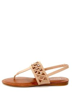 Bamboo Knotted Thong Sandals - Product List Image