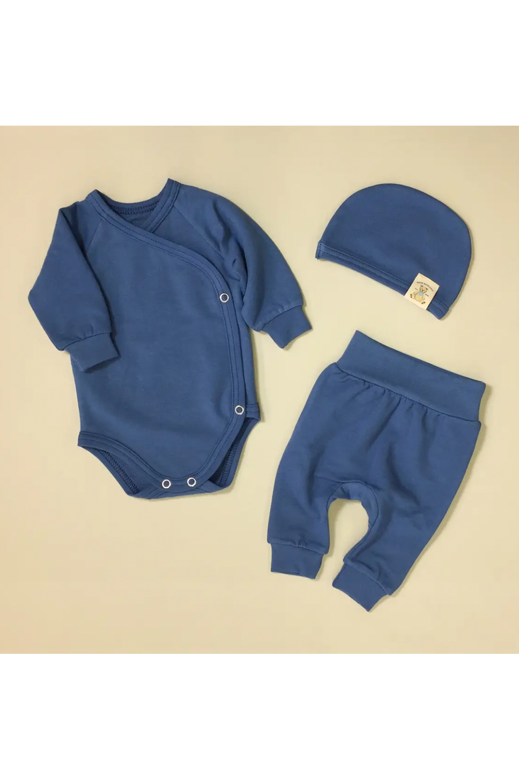 Itty Bitty Baby Bamboo Layette Set 1 Month Size (5-8 lbs) - Front Cropped Image