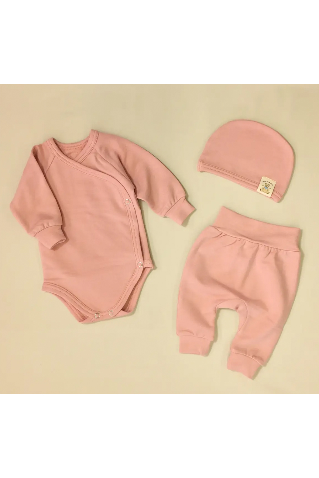 Itty Bitty Baby Bamboo Layette Set - Preterm 3 (3-5 lbs) - Front Cropped Image