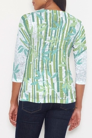 Whimsy Rose Bamboo Leaves Signature Shirt - Front full body