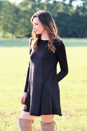Mittoshop Bamboo Long Sleeved Pocket Dress - Front cropped