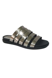 Bamboo Multi Strap Sandal - Front cropped