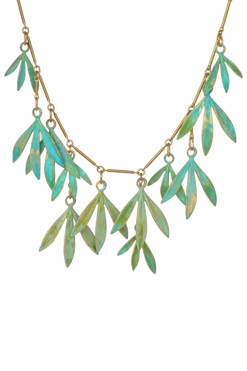 We Dream In Colour Bamboo Necklace - Front Cropped Image