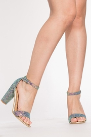 Bamboo Open Glitter Heel - Product Mini Image