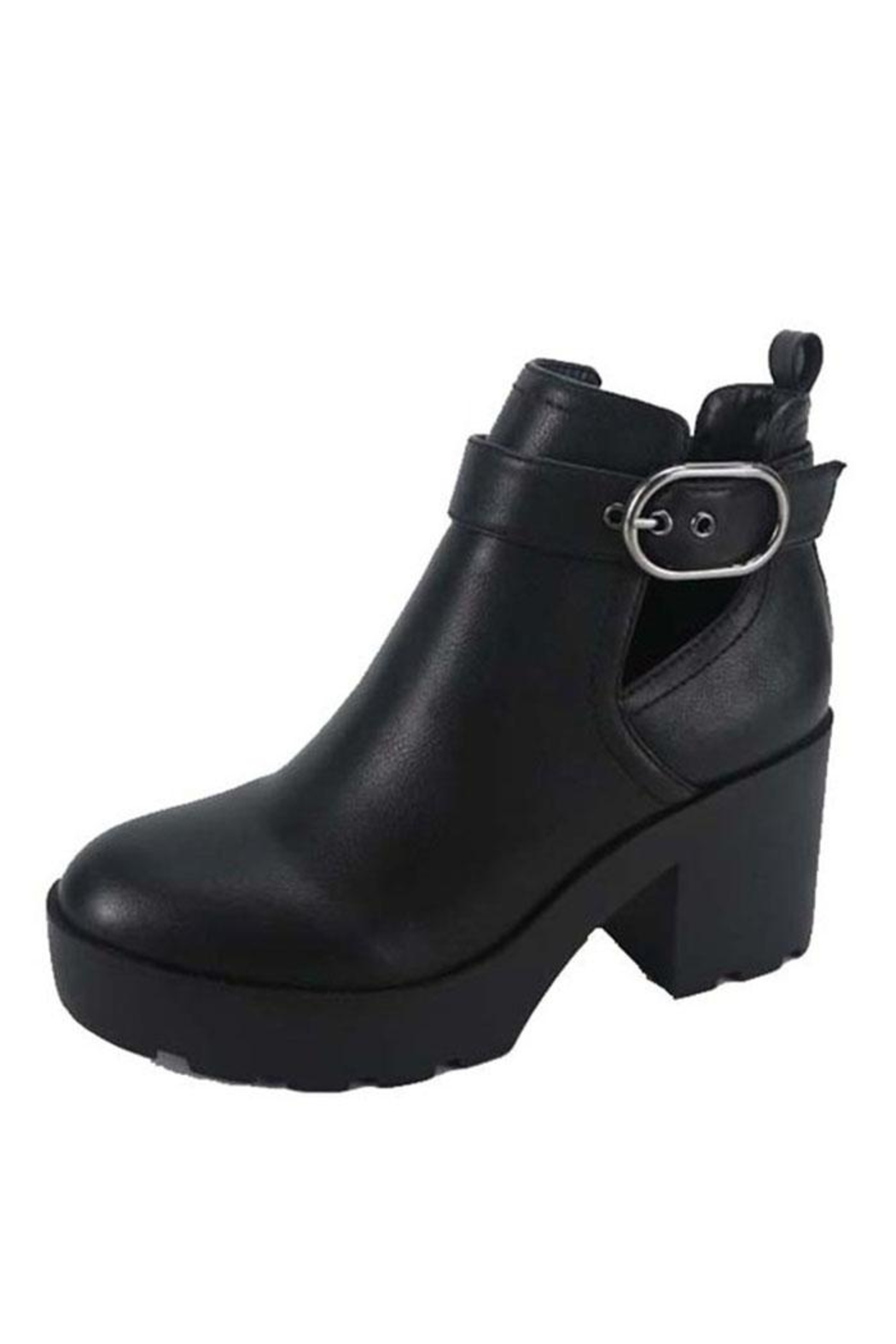 Bamboo Open Side Bootie - Main Image