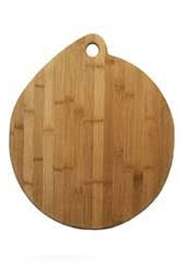 Totally Bamboo Bamboo Pizza Board - Front cropped