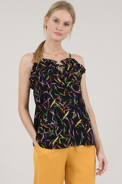 Shoptiques Product: Bamboo Printed Tank