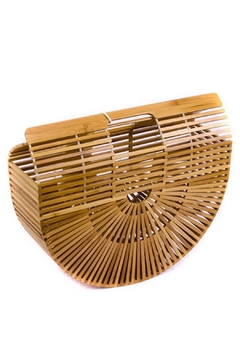 Tracie's Bamboo Purse - Alternate List Image