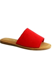 Bamboo Slide Sandal - Product Mini Image