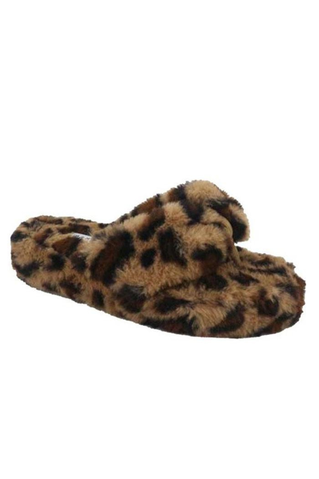 Bamboo Slip-On Thong Slipper - Front Cropped Image